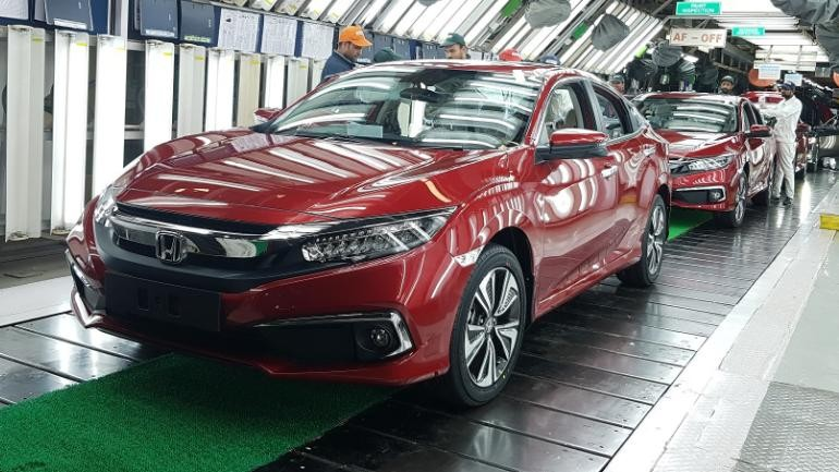 Honda Cars India commences production of tenth-generation Civic in India