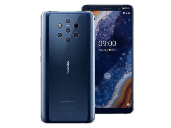 Nokia 9 PureView with five rear cameras, in-display fingerprint sensor launched