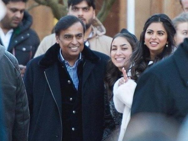Akash Ambani's star-studded pre-wedding bash is set in a winter wonderland