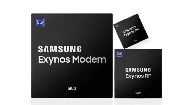 Samsung starts mass production of 5G chips, modem