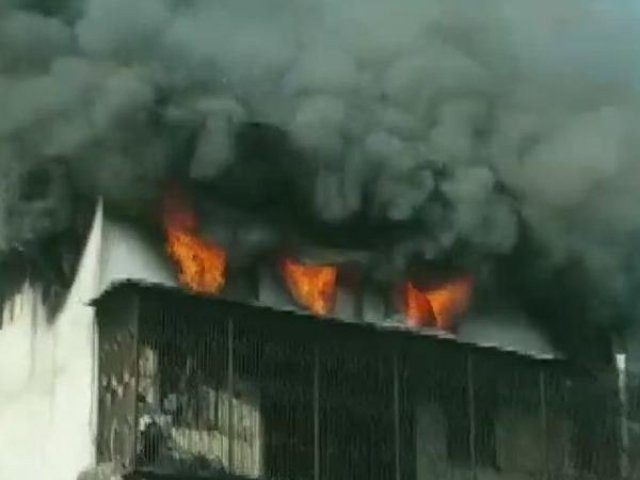 Fire breaks out at factory compound in Maharashtra's Bhiwandi, no casualties reported