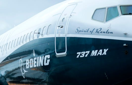 Boeing says some 737 Max planes may have faulty parts on wings