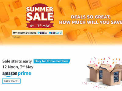 Amazon announces Summer Sale on smartphones, consumer electronics and more from May 4 to May 7