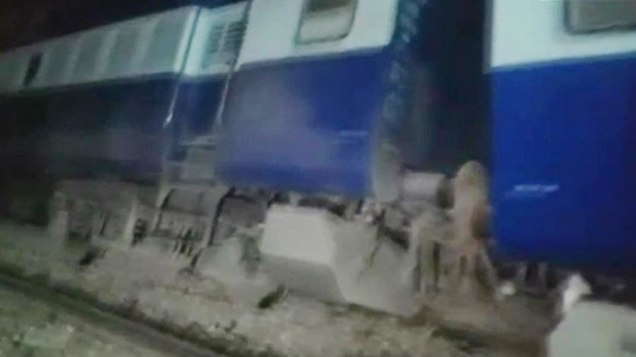 Nine bogies of Seemanchal Express derailed in Bihar's Sahadai Buzurg