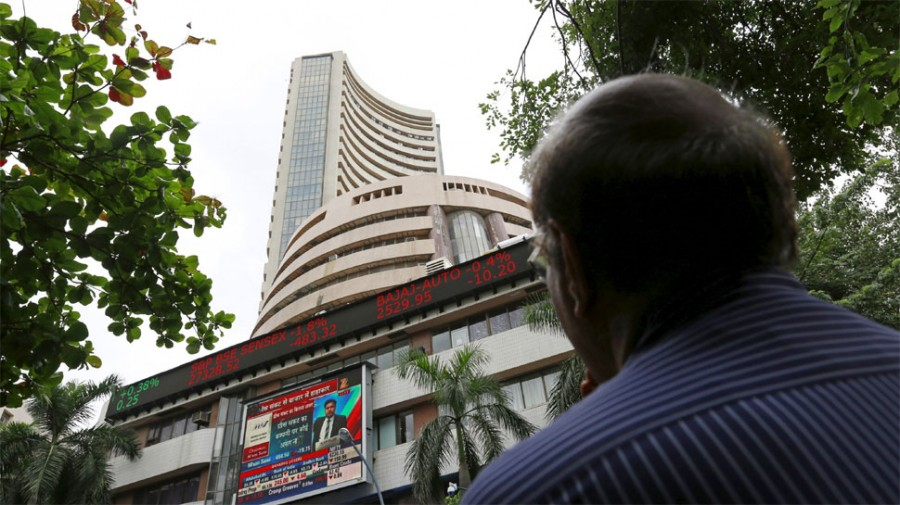 Markets open flat, Nifty dives below 11,600