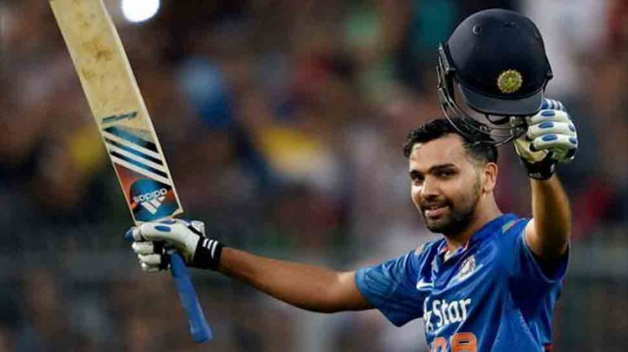 Rohit Sharma fined 15 per cent of match fee for hitting stumps after LBW dismissal