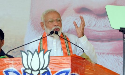 Lok Sabha election 2019 : PM Narendra Modi addresses rally near Ayodhya