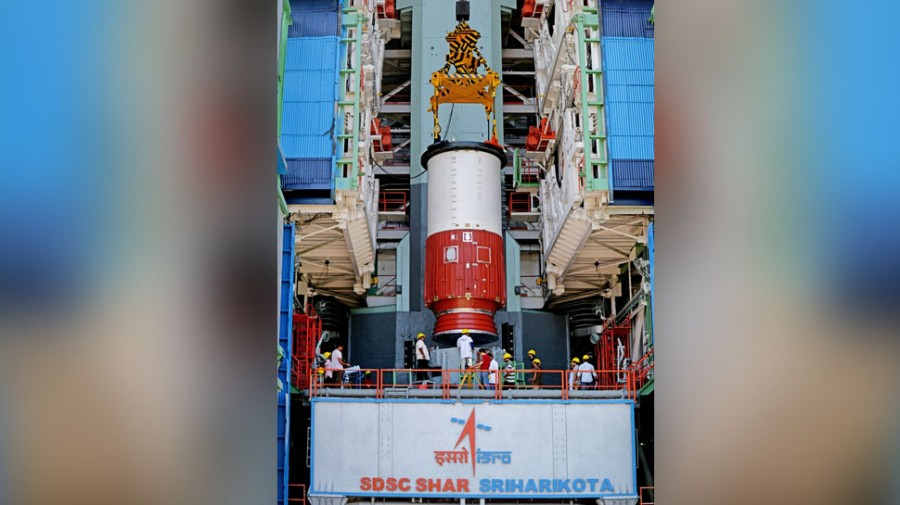 ISRO chairman visits Lord Venkateshwara temple ahead of PSLV-C 46 launch