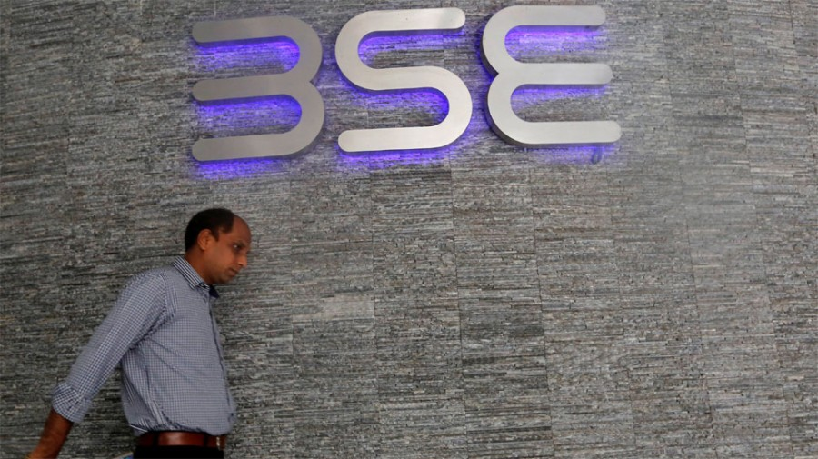 Sensex rises over 100 points; Nifty above 11,900