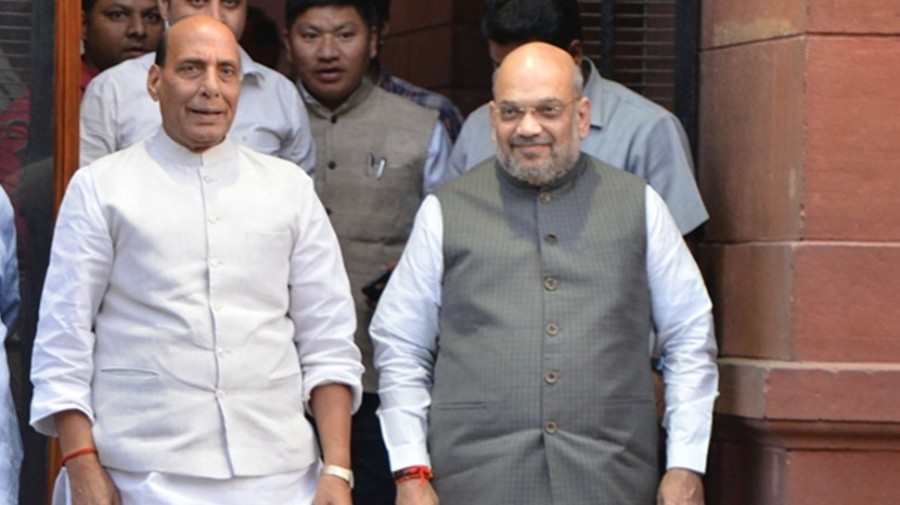 Home Minister Amit Shah, Defence Minister Rajnath Singh will formally take charge today