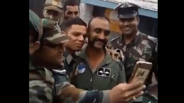 Video of IAF pilot Abhinandan interacting with colleagues surfaces