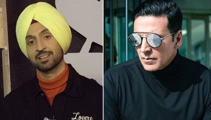Diljit Dosanjh reveals he lost bets to Akshay Kumar and owes him money
