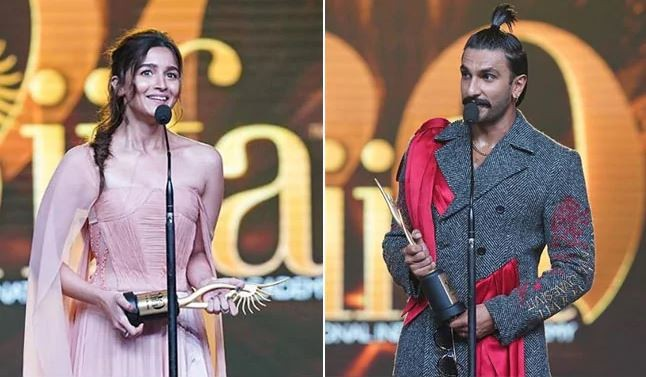 IIFA 2019: Alia Bhatt won Best Actress award and Ranveer Singh begs Best Actor award