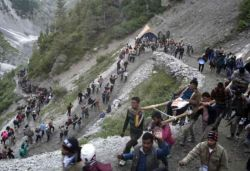 500 pilgrims to be allowed per day by road for Amarnath Yatra: J&K admin