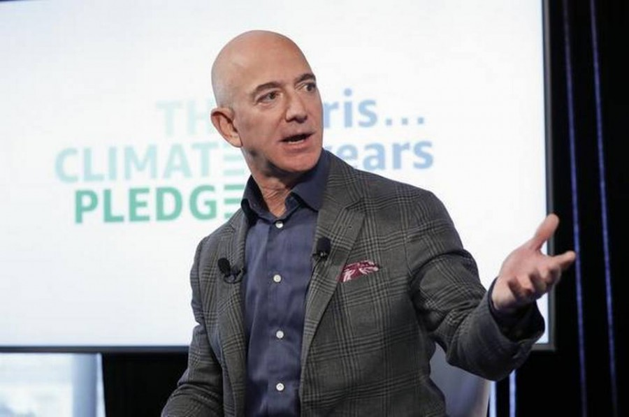 Amazon CEO Jeff Bezos pledge to make company carbon neutral by 2040