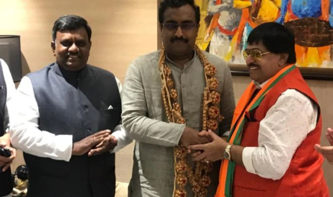 Another blow to TDP as senior leader Ambika Krishna joins BJP