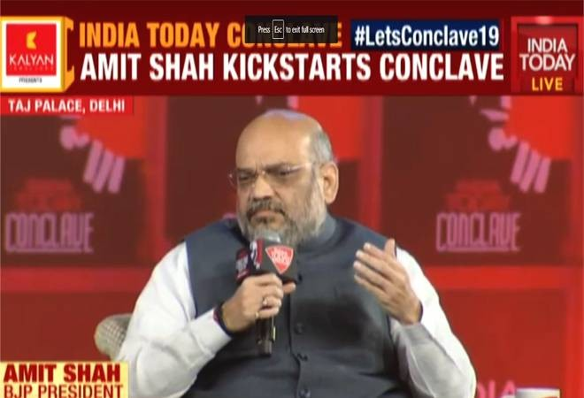 Conclave 2019 : Is Opposition accusing us of orchestrating Pulwama, asks Amit Shah