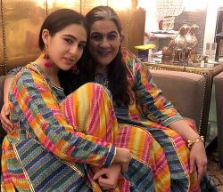Sara Ali Khan And Amrita Singh, Twinning And Winning