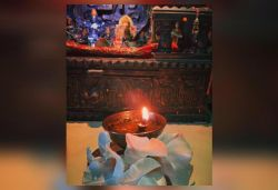 Child of God: Ankita shares pic of lit diya on 1 month of Sushant's death