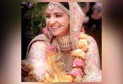 I didn't want to do a traditional red look for my wedding: Anushka