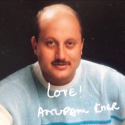Anupam Kher Gets Nostalgic Shares An Autographed Picture
