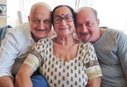 Anupam Kher's family members, including mother, test COVID-19 +ve