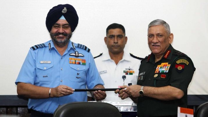 Chief of Army Staff General Bipin Rawat takes over as Chairman, Chiefs of Staff Committee
