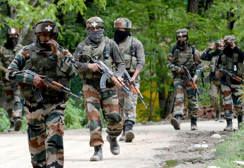 Two terrorists shot dead in J&K's Bandipora