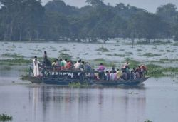 Over 6 lakh people affected in 17 districts of Assam due to floods