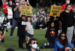 Thousands take part in anti-racism protests across Australia