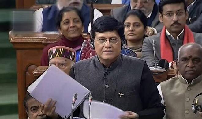 Budget 2019: Piyush Goyal gives ₹12,500 relief to income tax payers