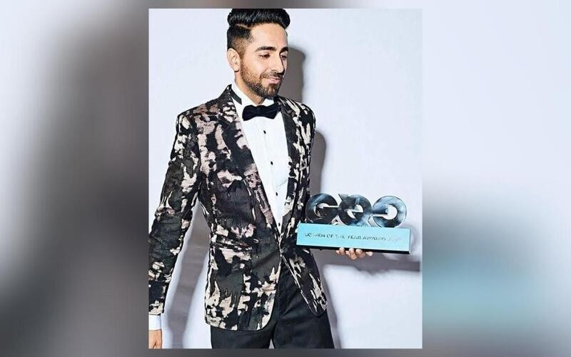 Ayushmann named Actor of the Year at GQ Men of the Year Awards 2019