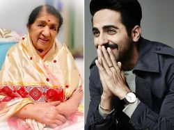 Lata Mangeshkar tweets about singing and acting in Ayushman Khurana's Andhadhund