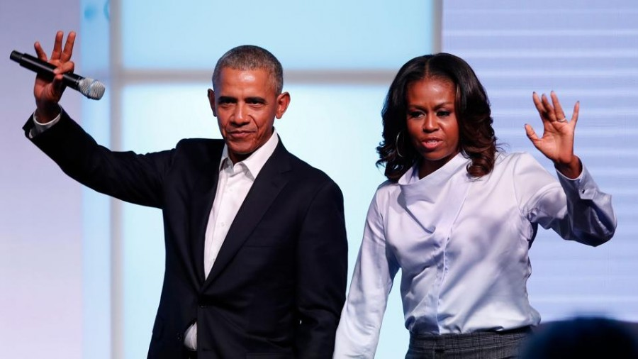 Spotify partners the Obamas for exclusive podcasts
