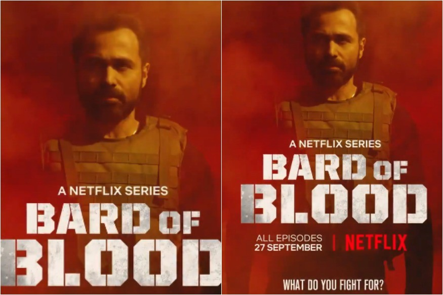 Bard of Blood motion poster: Emraan Hashmi shares first look of Netflix, Shah Rukh Khan's spy series