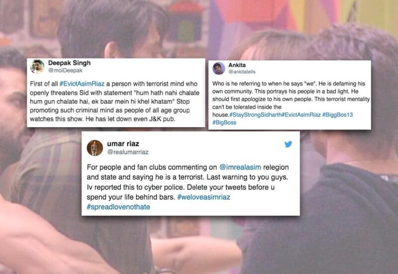 Twitter users call Bigg Boss contestant Asim terrorist, brother files complaint