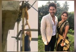 Jennifer Winget's lift falls from top floor during shoot, co-star saves her