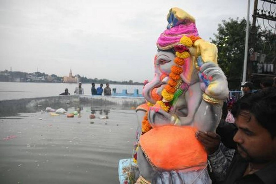 11 drown as boat capsizes during Ganesh idol immersion in Bhopal
