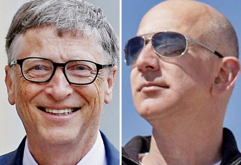 Bill Gates again the world's richest after 2 years, net worth 7.89 lakh crore; Bezos in second place