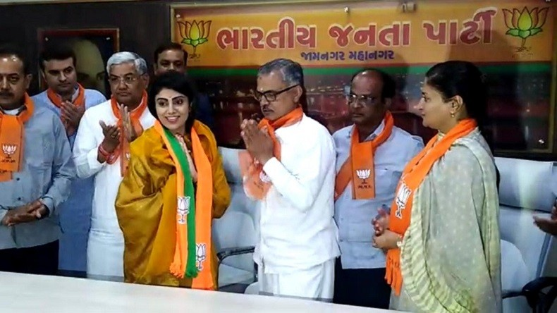 Cricketer Ravindra Jadeja's wife Rivaba eyes BJP ticket from Gujarat's Jamnagar Lok Sabha elections