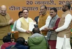 JP Nadda replaces Amit Shah as BJP National President