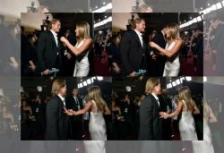 Brad, ex-wife Jennifer meet backstage at award ceremony; pics viral