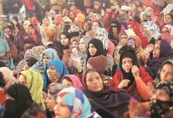 FIR against over 60 women for protesting against CAA in Aligarh