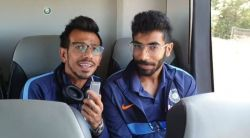 We miss MS Dhoni, no one sits on his seat in team bus: Yuzvendra Chahal