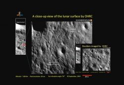 ISRO shares close-up pics of lunar surface captured by Chandrayaan-2