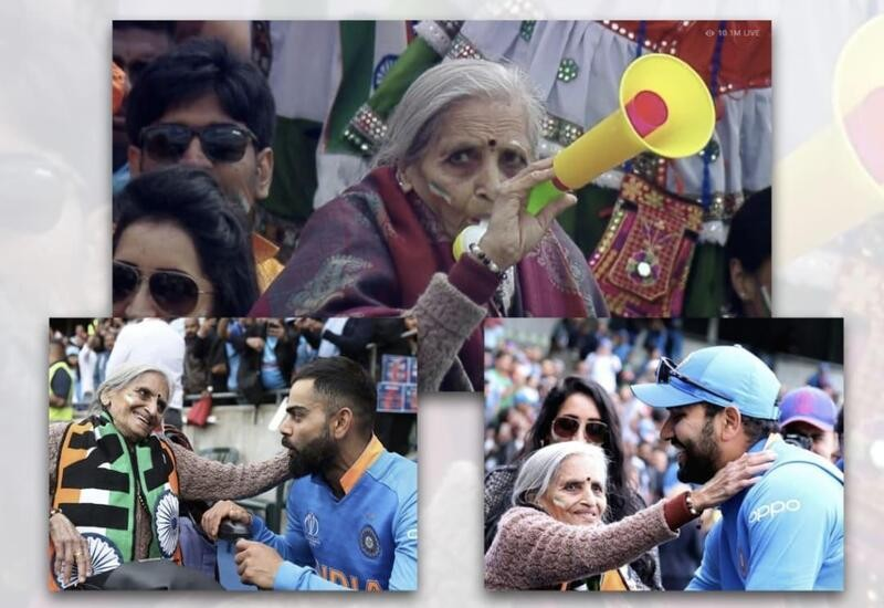 Charulata, Team India fan who went viral during World Cup, passes away at 87