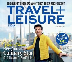 Vikas Khanna On Travel Plus Leisure Cover Page