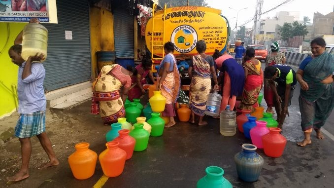 Water Crisis In Chennai, Desperate Locals Pay Double For Private Supply