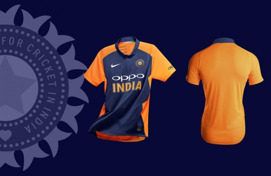 It's Confirmed, India to Wear Orange and Blue Jersey vs England