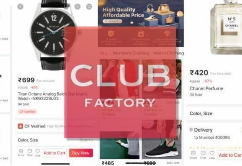 Club Factory labels fake items as 'verified', fools users